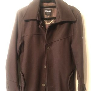 Men's Billabong wool coat